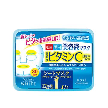 クリアターン エッセンスマスク〈ビタミンC〉(コーセー)