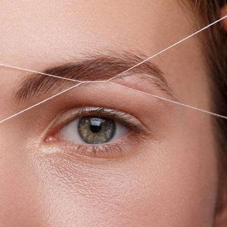 スレッディングで産毛を脱毛!糸脱毛の特徴のイメージ